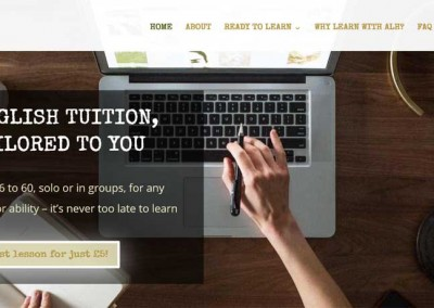Academy Learning Hall Education Web Design