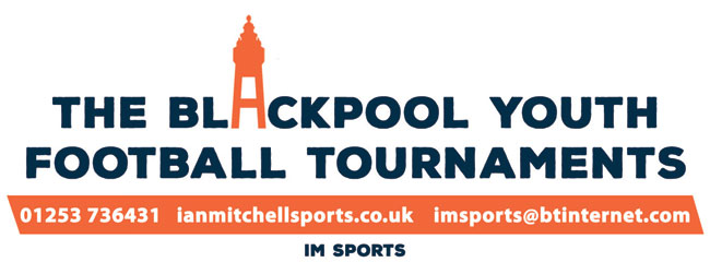 Logo design for Blackpool Youth Football Tournaments