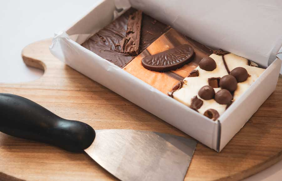 Build A Box of delicious handmade fudge online in the click of a button!