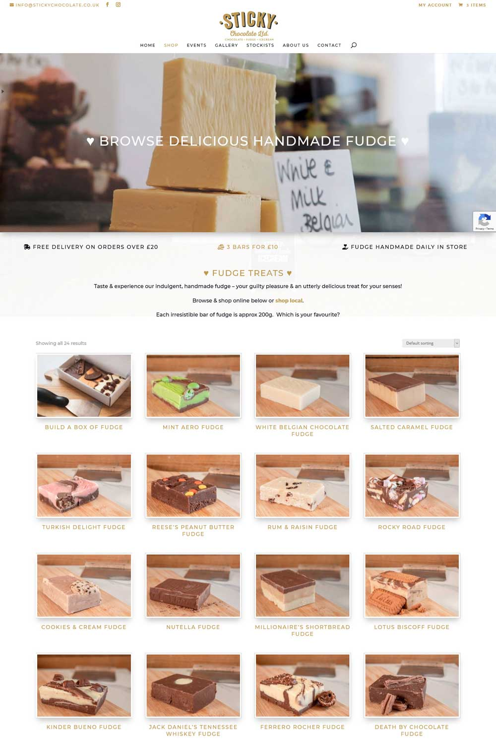 Beautiful, user friendly eCommerce online shop website design