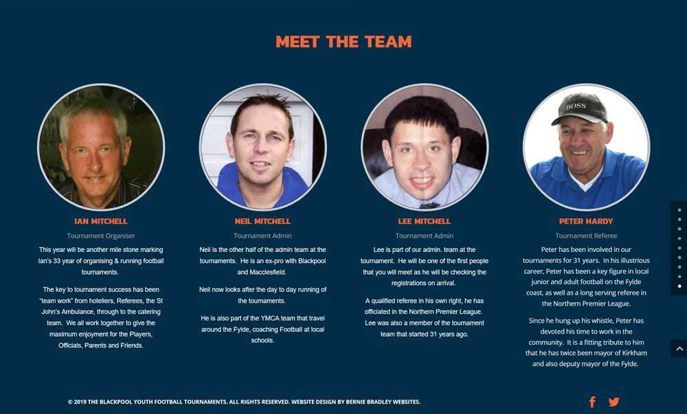 Meet the team staff profiles
