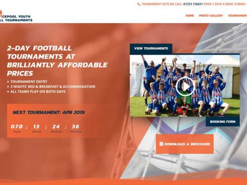 Blackpool Youth Football Tournaments