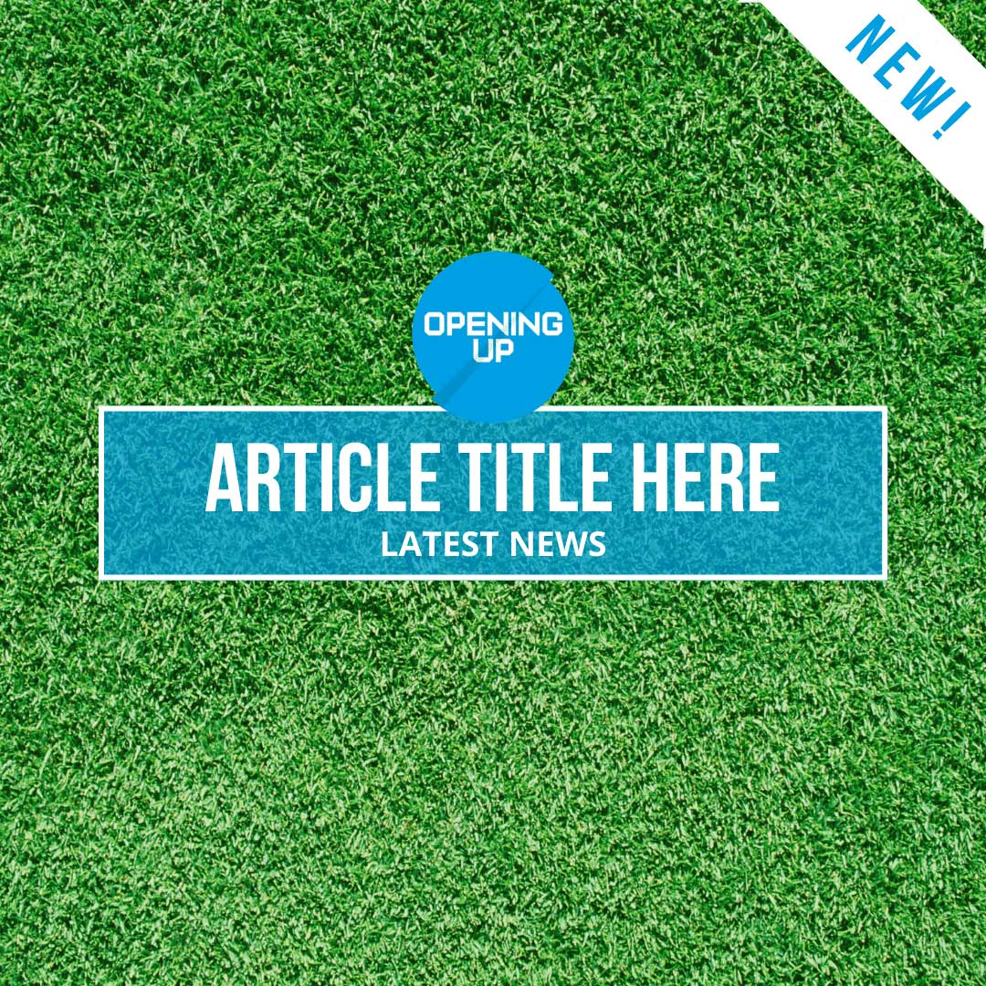 Facebook, Twitter & Instagram post template to advertise new blog articles