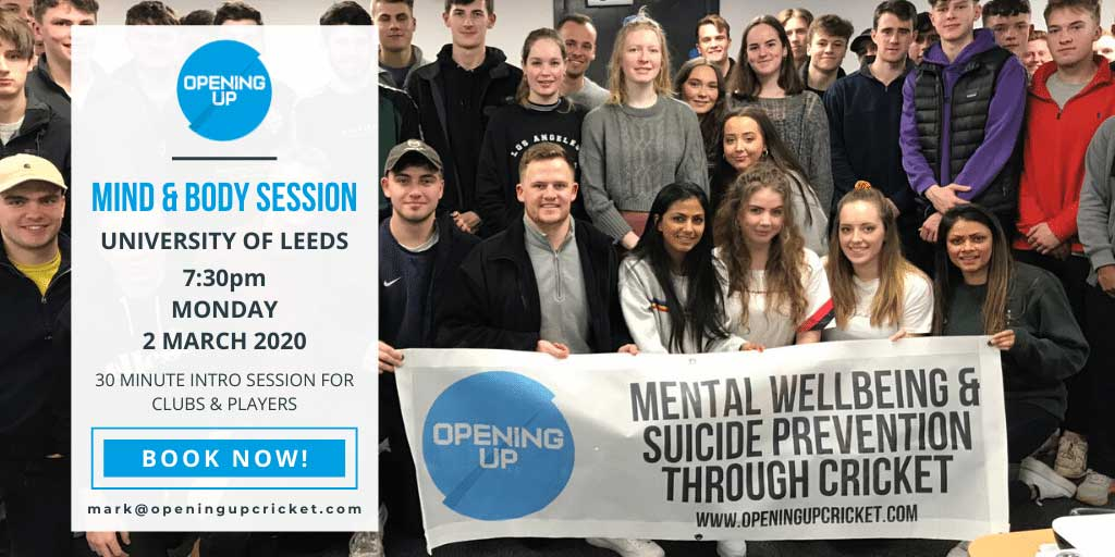 Twitter post mental health event session template