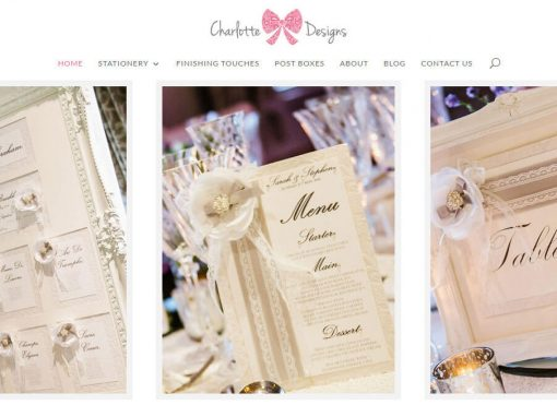 Charlotte Designs Web Design