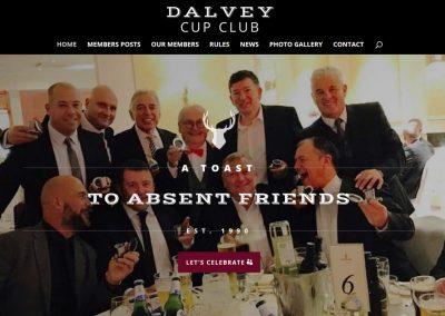 Dalvey Cup Club Web Design